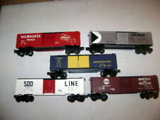 Lionel lot of 9700 series Boxcars! 9702, 9704, 9712, 9730 & 9731 Great Condition