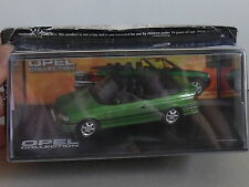 THE OPEL COLLECTION,OPEL ASTRA F CABRIOLET 1992-1998 GREEN mag part works.CL09