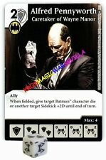 035 ALFRED PENNYWORTH: Caretaker... -Common- WORLD'S FINEST Marvel Dice Masters