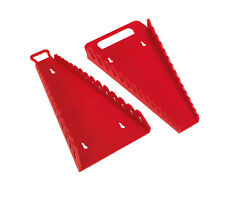 Paquet de 2 Sealey Tpr Clés Supports 15 Fentes Chaque Carry Wr08 & Wr09 Reverse