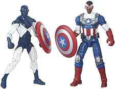 HASBRO MARVEL LEGENDS SHIELD WIELDING HEROES 2PACK ACTION FIGURE CAPTAIN AMERICA
