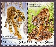 [SS] Malaysia Stamp 2010 Tiger Malaysia-Korea Diplomatic Relations STAMP SET