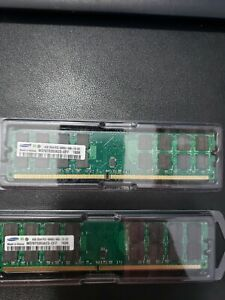 SAMSUNG 8GB 2X4GB PC2-6400U-666-12-E3 AMD MEMORY ONLY m378t5263az3-CF7 1626