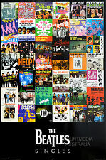 (LAMINATED) THE BEATLES - SINGLES POSTER (61X91CM) NEW LICENSED ART