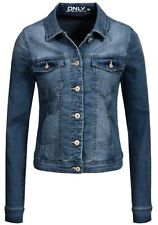 Only Damen Jeans Jacke New Westa Kurz Frühling Übergangs Jacket denim Basic