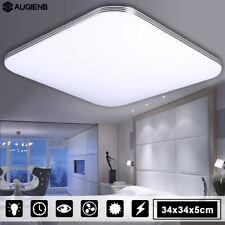 AUGIENB 16W 1400LM LED Ceiling Light Bathroom Flush Mount Fixture Lamp White SDM