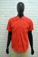 Camicia MARLBORO CLASSIC Uomo Taglia Size XL Maglia Chemise Shirt Man Rosso