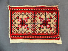 Antique Colourful Woolen Tapestry/Needlepoint/Wall Hanging/Furniture Covering