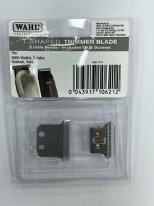 WAHL T-SHAPED TRIMMER BLADE SET DETAILER, HERO, 8900 MODELS AND SIDEKICK