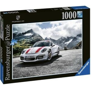 Ravensburger PORSCHE 911R CAR - Jigsaw Puzzle 1000 Piece Sports Car FREE UK P&P