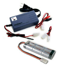 Universal Charger: 7.2v-12v (#01005) + 7.2v 5000mah NiMH Battery Pack w/ Tamiya