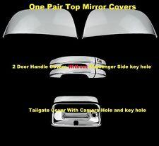 15 16 17 Chevy Colorado GMC Canyon Chrome Mirror 2 Door Handle NK Tailgate Cover