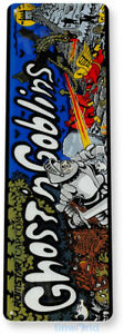 Ghost n Goblins Arcade Sign, Classic Arcade Game Marquee Tin Sign A404