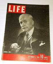 September 4, 1944 LIFE Magazine 40s advertising historical FREE SHIPPING Sept 9