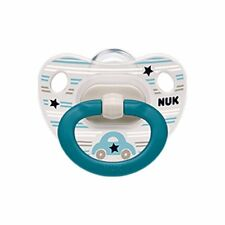 NUK Baby Pacifier Happy Days Orthodontic 18-36 Months Car Boy Silicone 8022-1