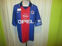 "Paris St.Germain Original Nike Heim Trikot 2000/01 ""OPEL"" Gr.M TOP"