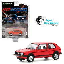 Greenlight 1:64 Hot Hatches - 1982 Volkswagen Golf Gti (Red) #47080-B