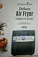 New In Box! Pampered Chef Deluxe Air Fryer #100194 New Spring 2020 Product!