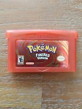 Nintendo Gameboy Advance Gba pokemon firered fire red