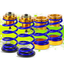 """4PCS BLUE SPRING 1""""-4"""" SUSPENSION COILOVER KIT REPLACEMENT FOR 06-11 HONDA CIVIC"""