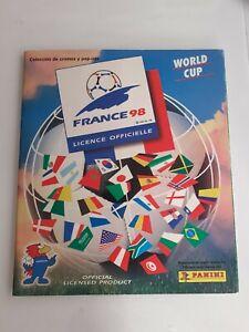 Album cromos Mundial Francia 98 Panini World Cup France Stickers Iran Completo
