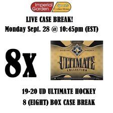 19-20 UD ULTIMATE 8 (EIGHT) BOX CASE BREAK #1925 - Columbus Blue Jackets