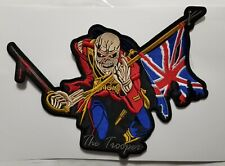 IRON MAIDEN THE TROOPER EMBROIDERED BACK PATCH