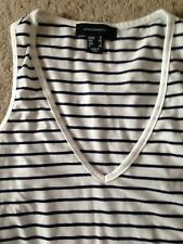Ladies Striped Vest Style Top. Atmosphere/Primark. Size 8.