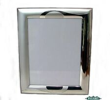 Sterling Silver And Wood Picture / Photo Frame 9.5X7