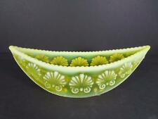 Davidson 'War of the Roses' Opalescent Yellow Vaseline Posy Bowl ca.1893 (#19-4)