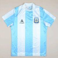 ARGENTINA 1986 WORLD CUP HOME FOOTBALL SHIRT LE COQ SPORTIF VINTAGE MARADONA ERA