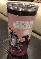 Disney World Parks Star Wars Resort Mug Stainless Hot Cold Tumbler R2D2 C3PO
