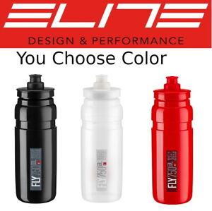 New Elite Fly H20 750ml Pro Bike Water Bottle BPA Free Recyclable