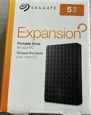 "Seagate Expansion 5TB Portable External Hard Drive (STEA5000402) - Black "" New"""