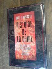 Histoire de la Chine des origines à la seconde guerre mondiale / René Grousset