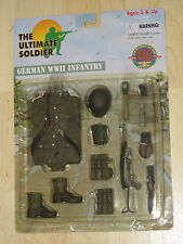 "Ultimate Soldier 1/6 12""` German WWII Infantry Uniform Accessory Set New Sealed"