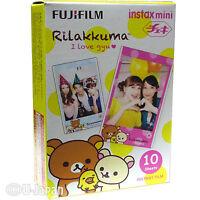 10 Fuji Instax Mini 8 Film Rilakkuma Fujifilm Mini 90/50s Instant Films 800 ISO