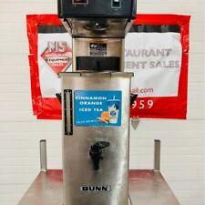 Commercial Tea Brewer Bunn TB3Q TB3Q w/TD4T Iced Tea Brewer W/Dispenser Working!