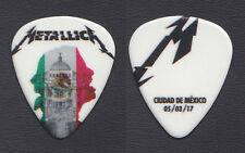 Metallica James Hetfield Mexico City 3/5/17 Guitar Pick - 2017 WorldWired Tour