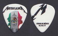 Metallica James Hetfield Mexico City 3/5/17 Guitar Pick - 2017 WorldWired Tour