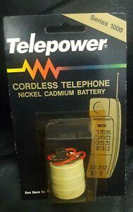 TELEPOWER CORDLESS TELEPHONE NICKLE CADMIUM BATTERY,SERIES 1000, TP/3/380DK-B,PA