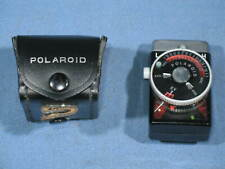 Vintage Polaroid Model 628 Exposure Meter with Case Made in Japan