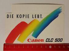 Pegatina/sticker: canon CLC 500-la copia vive (060417100)