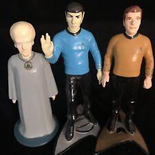 "Star Trek Hamilton Collection Captain Kirk, Spock & Talosian 4"" Figures 1991"