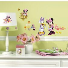 New MINNIE MOUSE & DAISY BARNYARD CUTIES WALL DECALS Disney Stickers Girls Decor