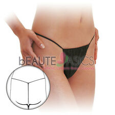 60 Pcs Disposable Women's T-string Spa Thong for Spray Tanning Waxing (DP108x5)