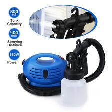 New Electric HVLP Paint Sprayer Gun Spray Pattern 800mL High-pressure Machine