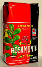 1kg Yerba Mate Rosamonte Tea Argentina With Stims+Free Delivery