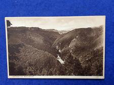 Sepia postcard: Cardiganshire, Devil's Bridge, view from the Hafod Hotel