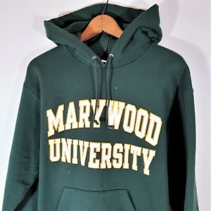 Vintage 90s Champion Eco Marywood University Sweatshirt 1990s Spell Out Hoodie M